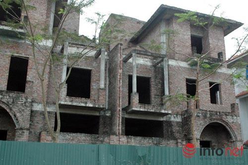"""Biệt thự chưa người ở đã """"hóa"""" nhà cổ giữa HN - 3"""