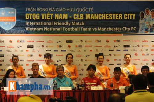 """""""Cầu thủ Việt Nam có cơ hội khoác áo Man City"""" - 2"""