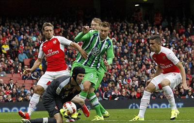 TRỰC TIẾP Arsenal - Wolfsburg: Nỗ lực bất thành (KT) - 3
