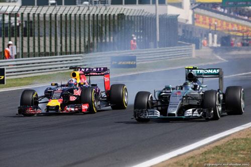 Hungarian GP: Podium không Mercedes - 3
