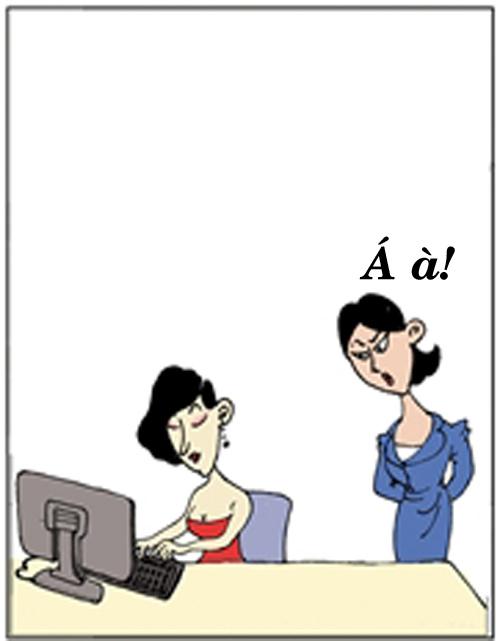 Truyện tranh: Đừng dại tuyển thư ký chân dài - 5