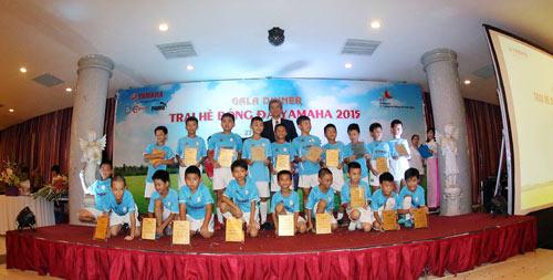 Nhìn lại trại hè bóng đá Yamaha 2015 - 5