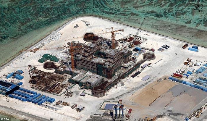 Đô đốc Mỹ: TQ tạo chủ quyền giả trên Biển Đông - 2