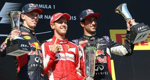 """BXH Hungarian GP: Vettel """"đè bẹp"""" bộ đôi Mercedes - 1"""