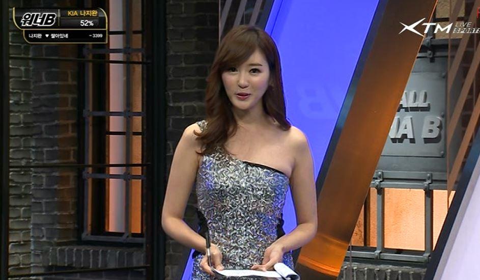 Nữ MC Hàn Quốc nổi tiếng nhờ thân hình bốc lửa - 8