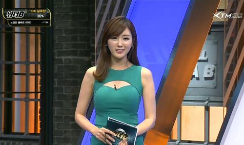 Nữ MC Hàn Quốc nổi tiếng nhờ thân hình bốc lửa - 10