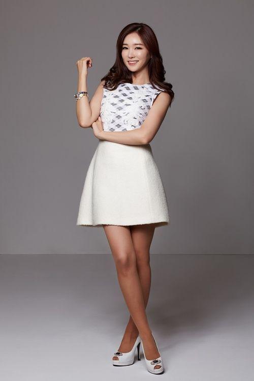 Nữ MC Hàn Quốc nổi tiếng nhờ thân hình bốc lửa - 6