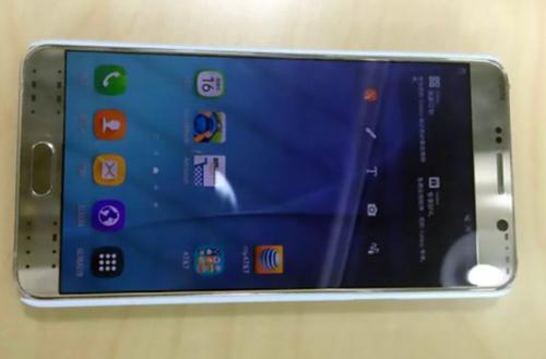 """""""Nóng"""" Galaxy Note 5 hiện nguyên hình - 1"""