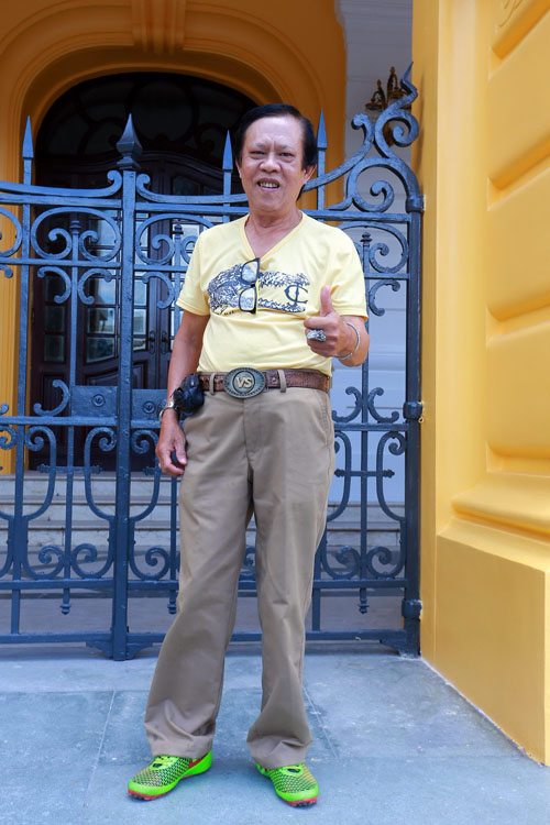 Danh hài Chiến Thắng la cà bia hơi với nhạc sĩ Vinh Sử - 5