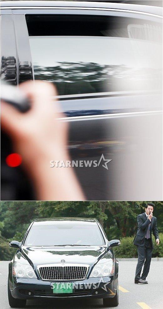Bae Yong Joon dùng siêu xe 20 tỷ đón dâu - 2