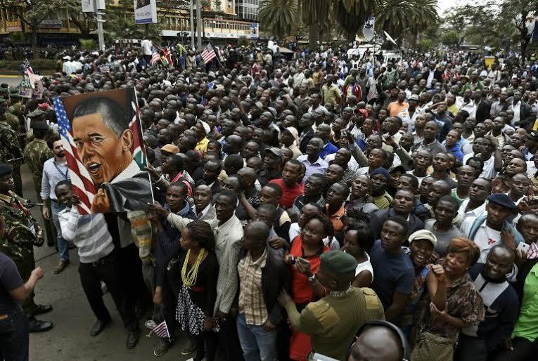 """Kenya: """"Sốt"""" đặt tên con theo gia đình Tổng thống Mỹ - 2"""