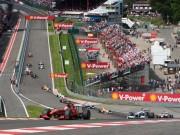 Lịch thi đấu F1: Belgium GP 2015