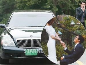 Bae Yong Joon dùng siêu xe 20 tỷ đón dâu