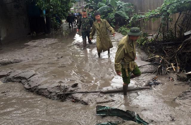 Quảng Ninh: Vỡ đập xỉ thải, di dời khẩn cấp 350 người - 3