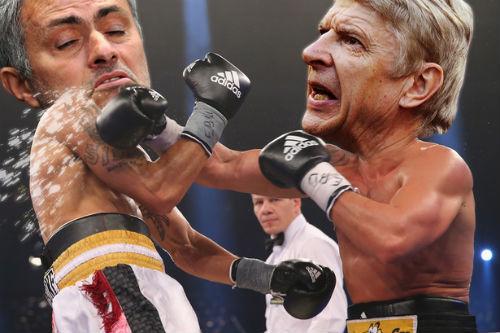 Siêu cúp Anh: Mourinho lớn tiếng châm chọc Wenger - 2