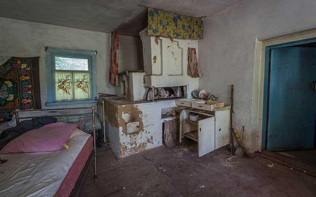 """Rợn người thị trấn """"ma"""" trong lòng Chernobyl - 13"""