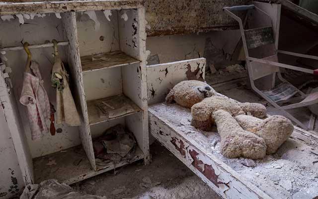 """Rợn người thị trấn """"ma"""" trong lòng Chernobyl - 14"""