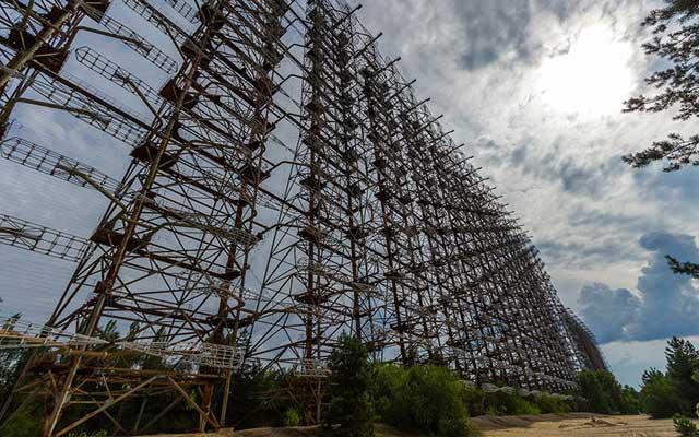 """Rợn người thị trấn """"ma"""" trong lòng Chernobyl - 5"""
