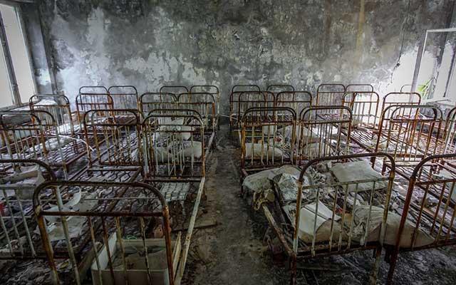 """Rợn người thị trấn """"ma"""" trong lòng Chernobyl - 8"""