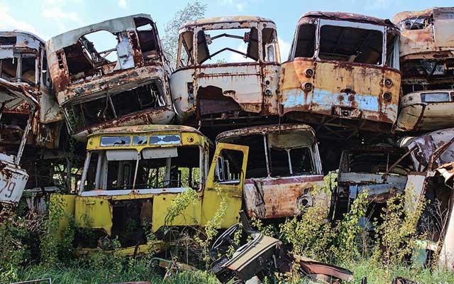 """Rợn người thị trấn """"ma"""" trong lòng Chernobyl - 9"""
