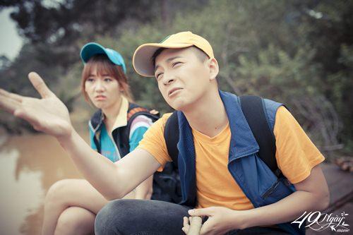 Hari Won nhí nhảnh đi câu cá cùng Ngô Kiến Huy - 6