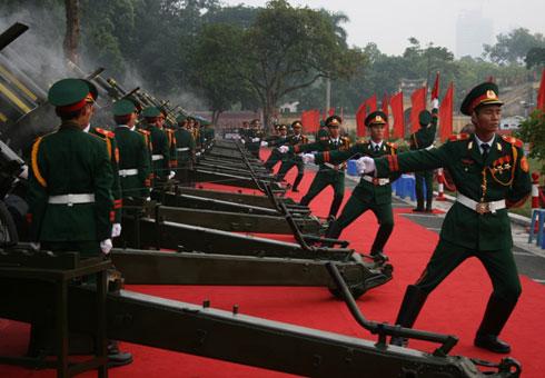 Hà Nội bắn đại bác kỷ niệm 70 năm Quốc khánh 2.9 - 1