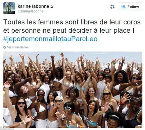 Thiếu nữ Pháp bị hành hung vì mặc bikini tắm nắng - 5
