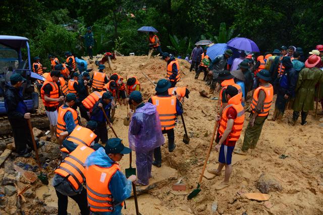 Đã tìm thấy 7 nạn nhân vụ sạt đồi ở Quảng Ninh - 2