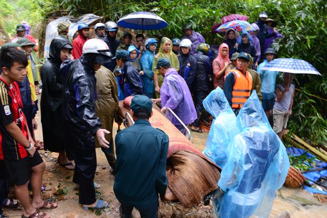 Đã tìm thấy 7 nạn nhân vụ sạt đồi ở Quảng Ninh - 1