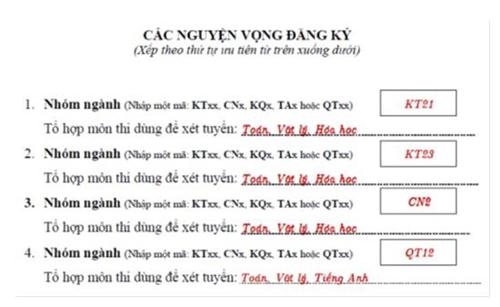 ĐH Bách khoa Hà Nội công bố điều kiện đăng ký xét tuyển - 3