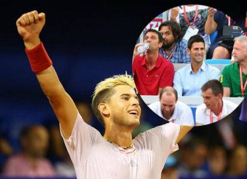 Sắp vượt Nadal, Djokovic thoải mái xem đàn em tranh tài - 3