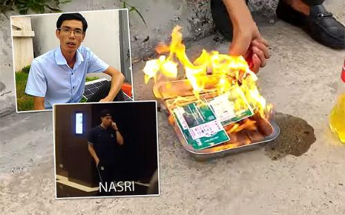 Hậu Man City ở VN: Báo Anh sốc khi fan Việt đốt vé - 1