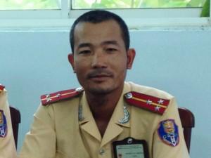 Gặp Thượng uý CSGT phơi nhiễm HIV khi bắt cướp