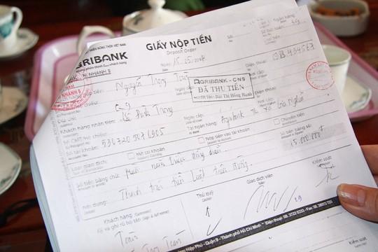 Truy tố nguyên phó chánh thanh tra sở nhận hối lộ - 1