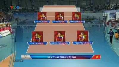 Trực tiếp Việt Nam vs Triều Tiên - Giải VTV Cup 2015