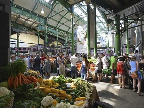 Ghé thăm những khu chợ ẩm thực nức tiếng thế giới - 2
