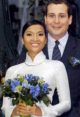Những tấm ảnh cưới thời xưa ít biết của sao Việt - 10