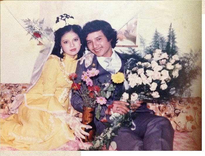 Những tấm ảnh cưới thời xưa ít biết của sao Việt - 1