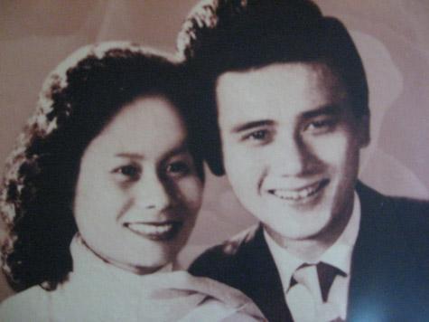 Những tấm ảnh cưới thời xưa ít biết của sao Việt - 2