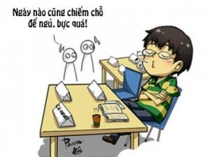 Những tật xấu điển hình của nam sinh viên