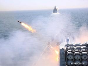 Đô đốc TQ hé lộ mục đích tập trận tên lửa ở Biển Đông