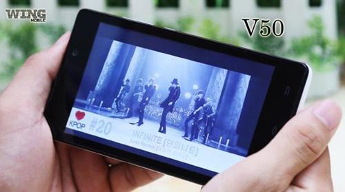 Wing V50 - Smartphone màn hình lớn được ưa chuộng - 2