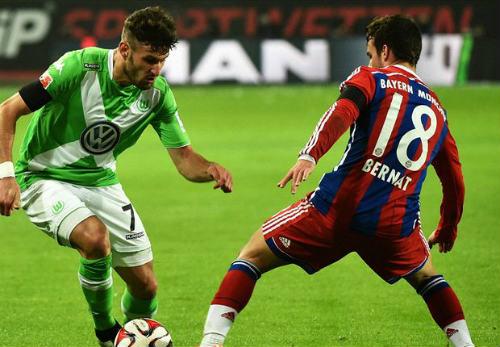 """Wolfsburg - Bayern: Vidal chắp cánh cho """"Hùm xám"""" - 2"""