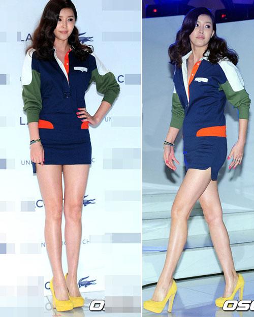 """Nghệ sĩ Hàn """"phát cuồng"""" vì trang phục ngắn - 8"""