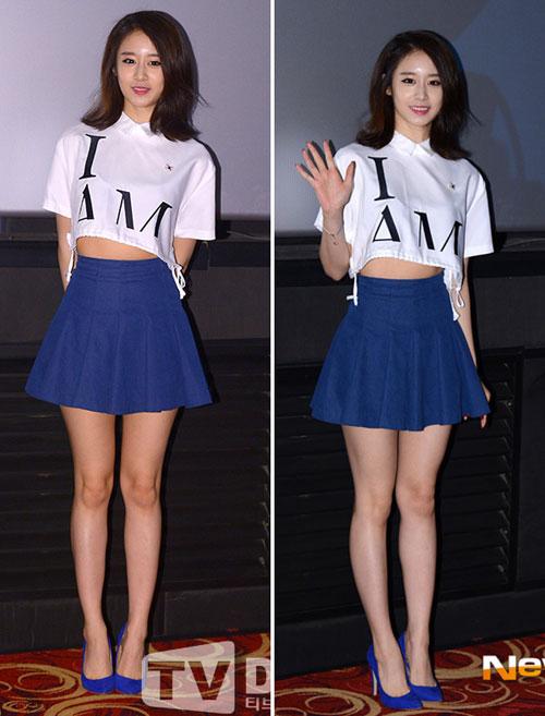 """Nghệ sĩ Hàn """"phát cuồng"""" vì trang phục ngắn - 10"""
