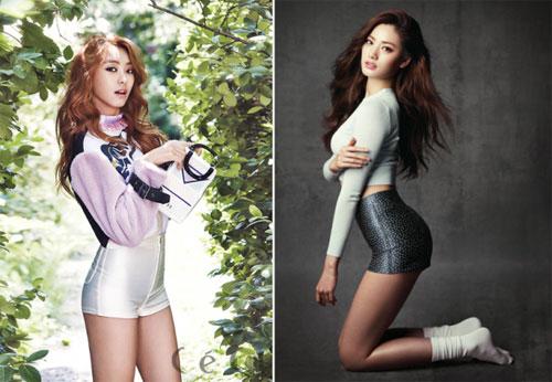 """Nghệ sĩ Hàn """"phát cuồng"""" vì trang phục ngắn - 14"""