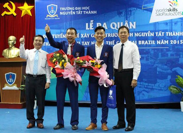 14 thí sinh Việt Nam dự thi tay nghề giỏi thế giới - 1