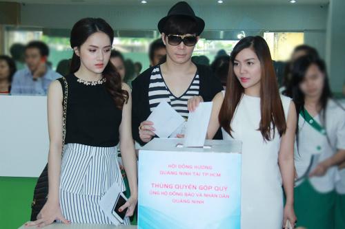 Sao Việt kêu gọi ủng hộ đồng bào gặp lũ lụt ở Quảng Ninh - 1
