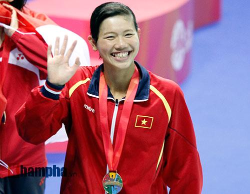 Lịch bơi Ánh Viên tại giải vô địch thế giới 2015 - 1