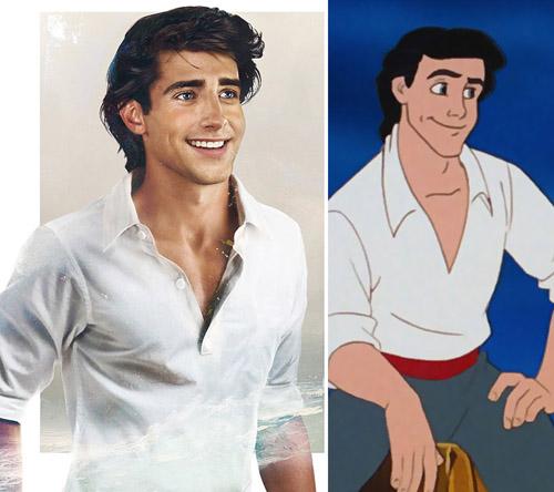 Bất ngờ với những hoàng tử, công chúa Disney người thật - 1